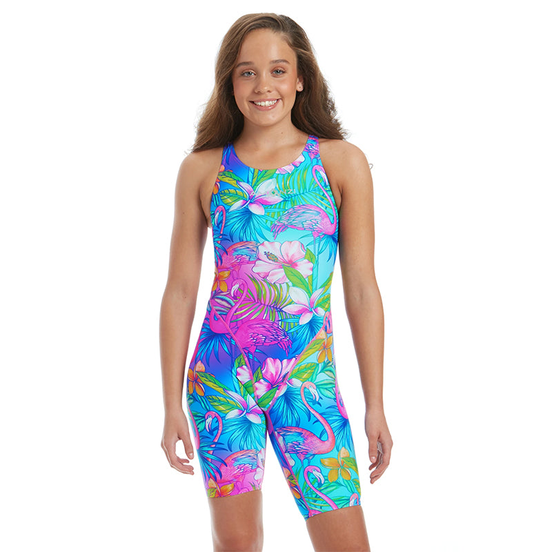Amanzi - Palm Springs Girls Knee Length Swimsuit