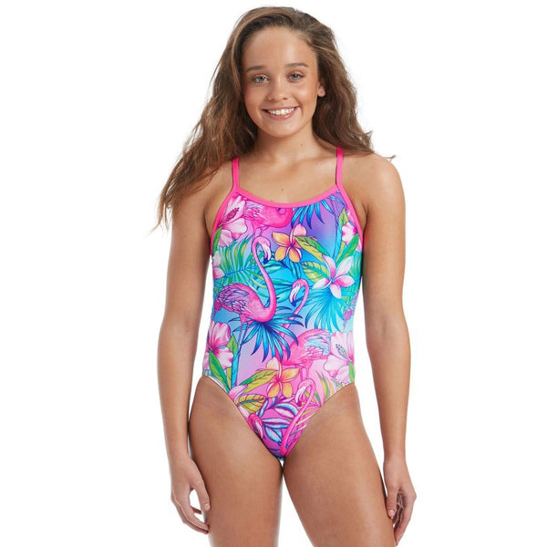 Amanzi -   Palm Springs Girls One Piece Swimsuit