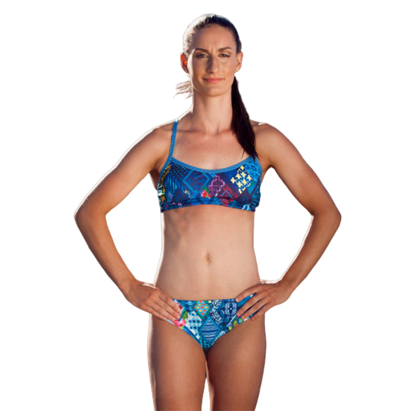 Amanzi - Posy Patch Womens Bikini Two Piece