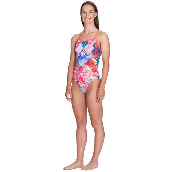 Amanzi - Peach Passion Ladies One Piece - Aqua Swim Supplies