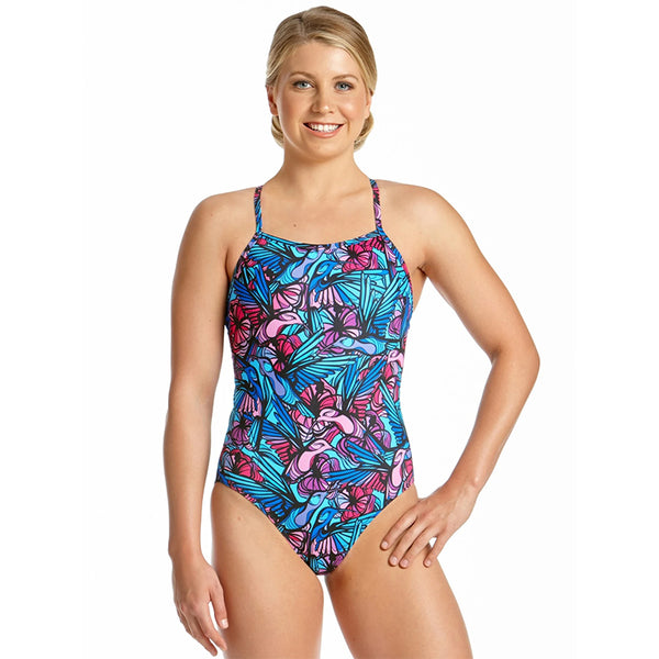 Amanzi - Song Bird Ladies One Piece Swimsuit