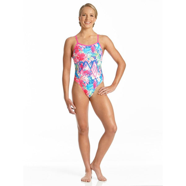 Amanzi - Tropical Punch Girls One Piece Swimsuit