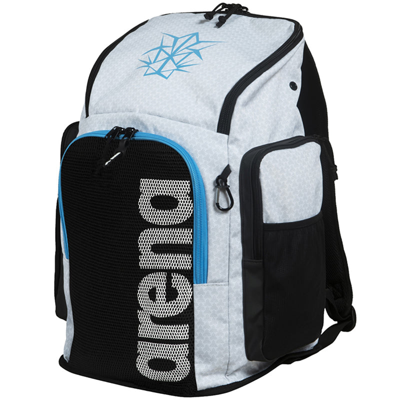 Arena - Bishamon Team Backpack 45 - White/Turquoise