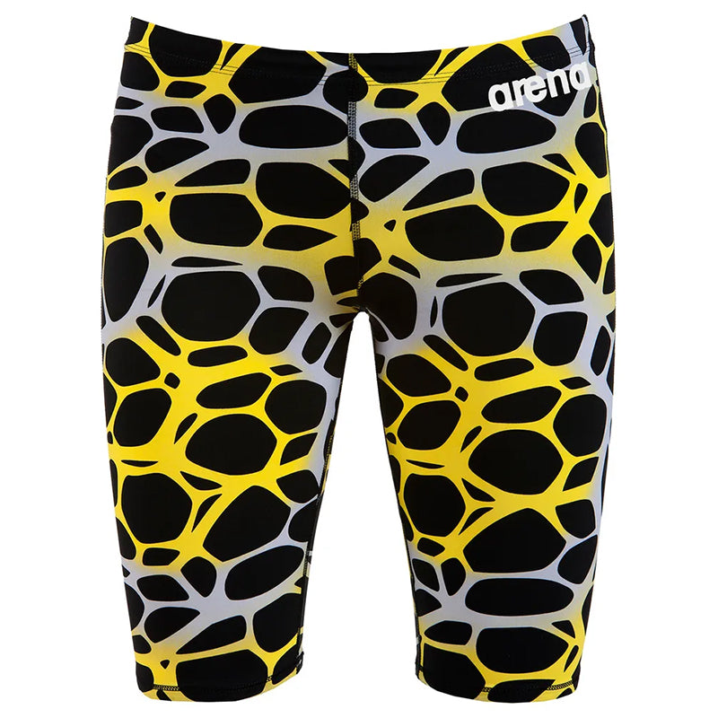 Arena - Boys Powerskin ST 2.0 Jammer - Black/Yellow (Ltd Ed.)