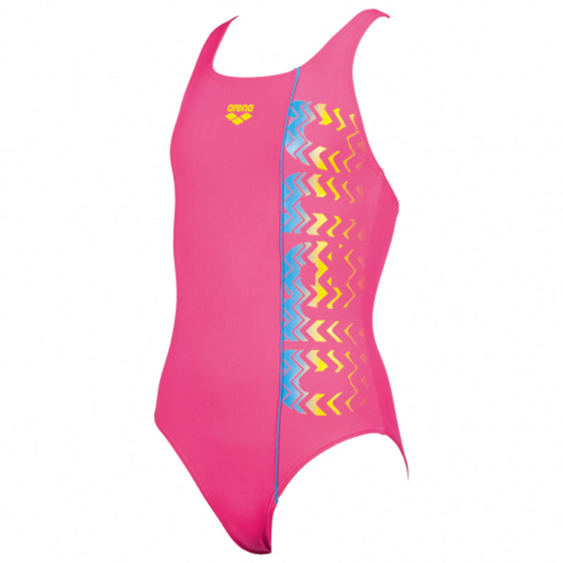 Arena - Floater Swim Pro Back Girls Swimsuit - Rose