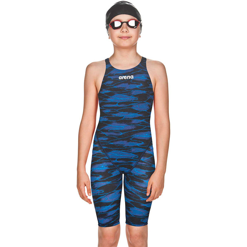 Arena - Girls Powerskin ST 2.0 Open Back - Blue/Royal