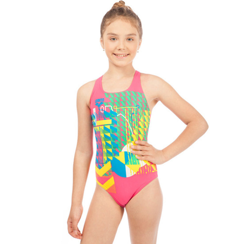 Arena - Inge Swim Pro Back Junior Swimsuit - Rose