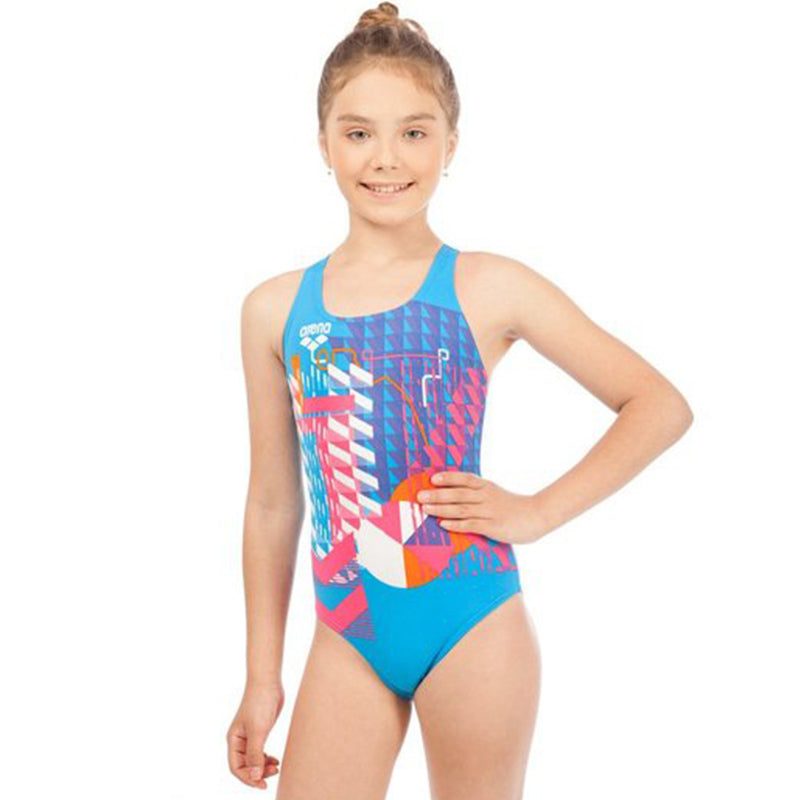 Arena - Inge Swim Pro Back Junior Swimsuit - Turquoise