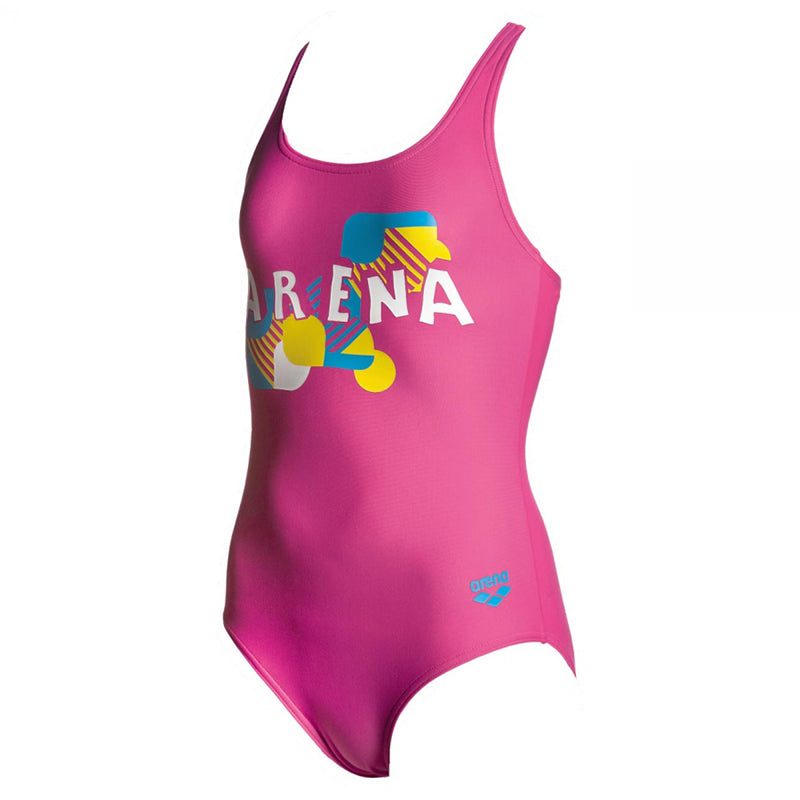 Arena - Jesper Swim Pro Back Junior Swimsuit - Rose