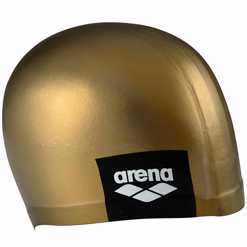 Arena - Logo Moulded Silicon Cap - Gold