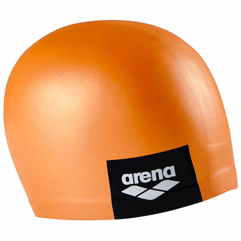 Arena - Logo Moulded Silicone Cap - Pinkish Orange