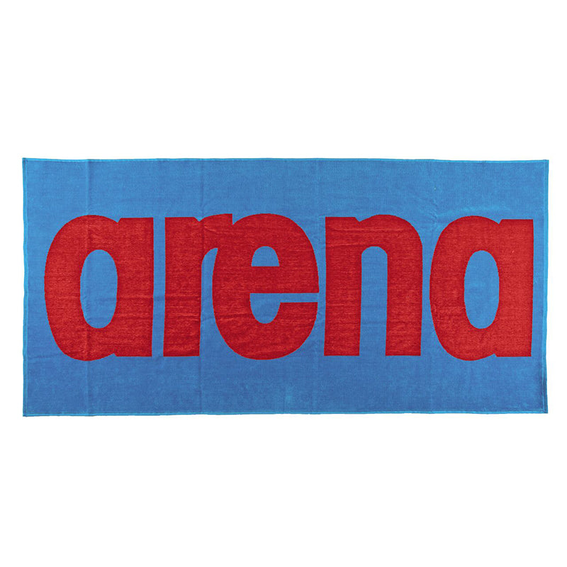 Arena Logo Towel – Blue / Red