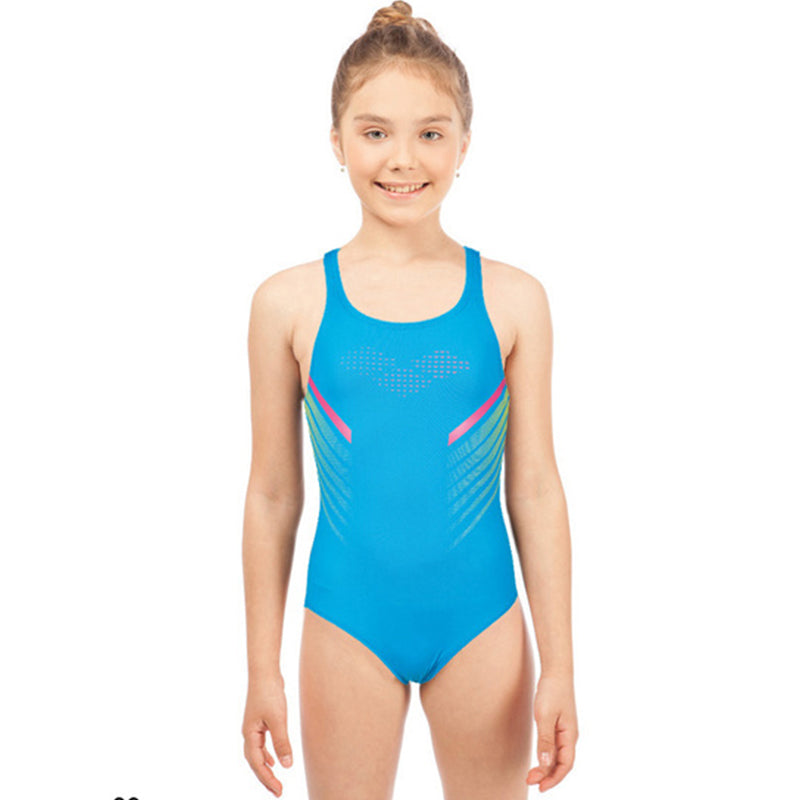 Arena - Myre Swim Pro Back Junior Swimsuit - Turquoise