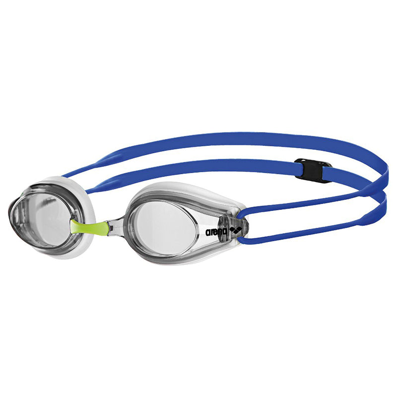 Arena - Tracks Goggles - White/Clear/Blue