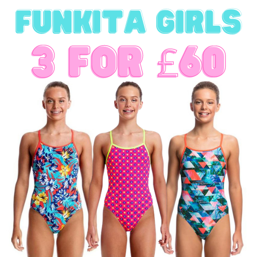 Funkita Girls Multi Buy x3 for £60