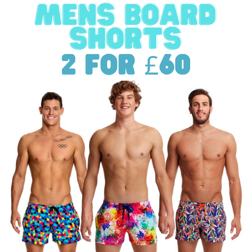 Mens Funky Trunks Board Shorts x2 for £60