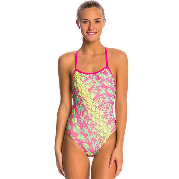 Dolfin - Bellas Ziggy Tie Back One Piece Swimsuit