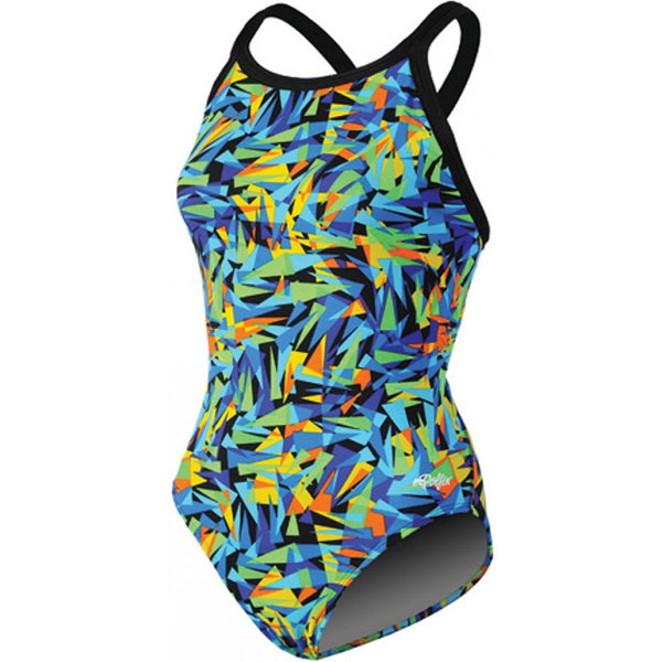 Dolfin - Chloroban Crackle DBX Back One Piece Swimsuit