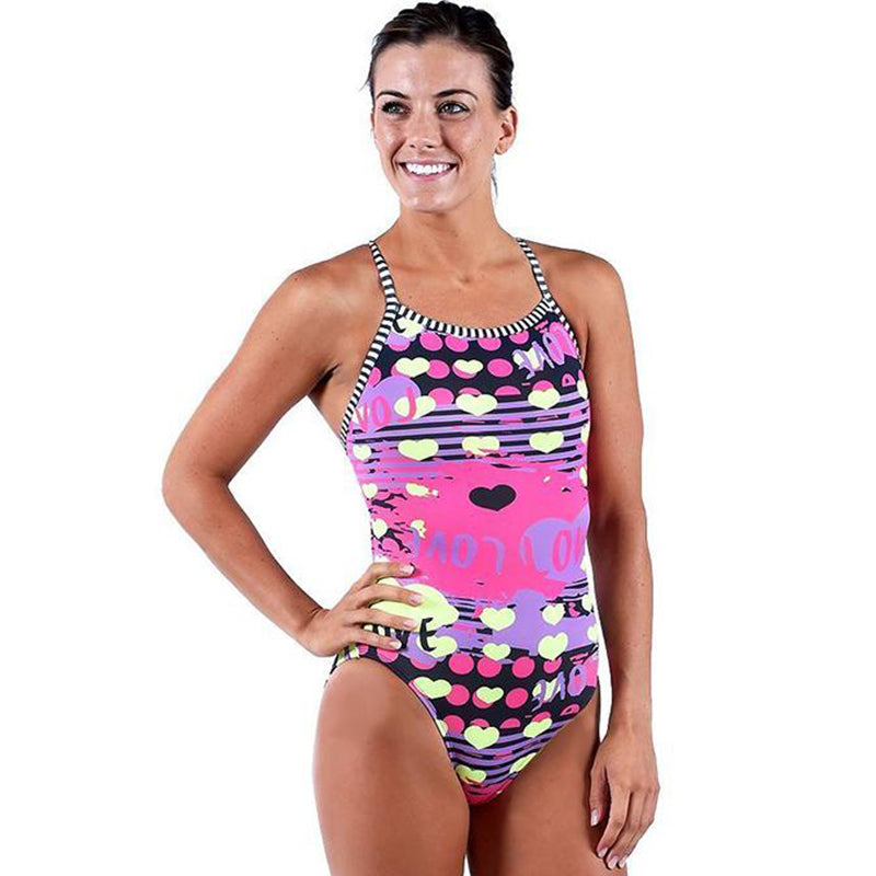 Dolfin Uglies - Amore V-2 Back One Piece Swimsuit