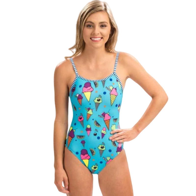 Dolfin Uglies - Cool Summer String Back One Piece Swimsuit