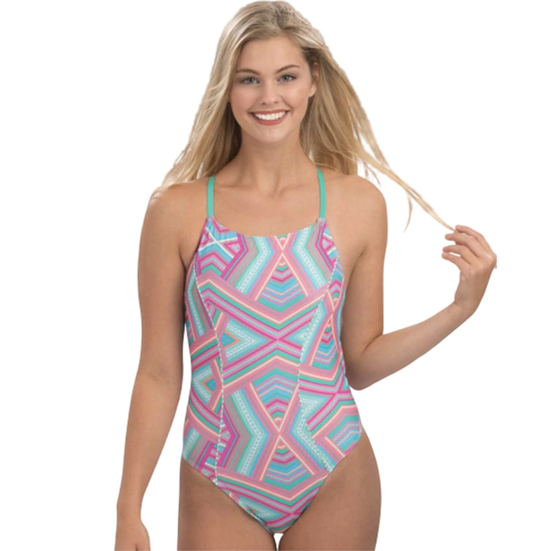 Dolfin Uglies - Revibe Glamazon Multi Diamondback One Piece Swimsuit