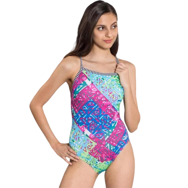 Dolfin Uglies - Indio V-2 Back One Piece Swimsuit