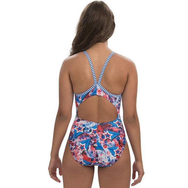 Dolfin Uglies - Liberty V-2 Back One Piece Swimsuit