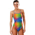 Dolfin Uglies - Vivi Print V-2 Back One Piece Swimsuit
