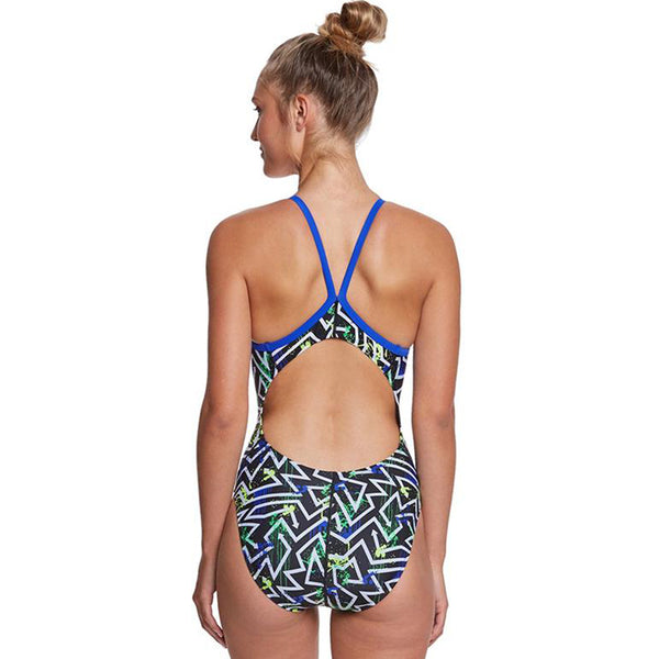 Dolfin - Winners Quest V-2 Back One Piece Swimsuit