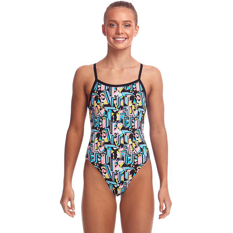 Funkita - Abstracta - Girls Single Strap One Piece