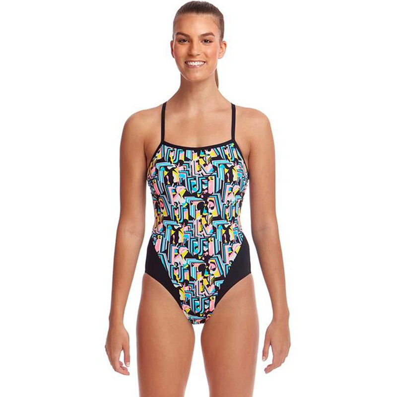 Funkita - Abstracta - Ladies Single Strap One Piece