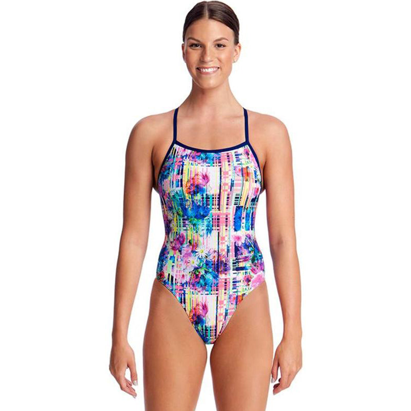 Funkita - Alba Wild - Ladies Tie Me Tight One Piece