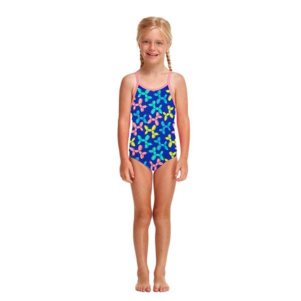 Funkita - Balloon Dog - Toddler Girls Printed One Piece