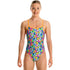 Funkita - Bang Bang Budgie - Girls Single Strap One Piece