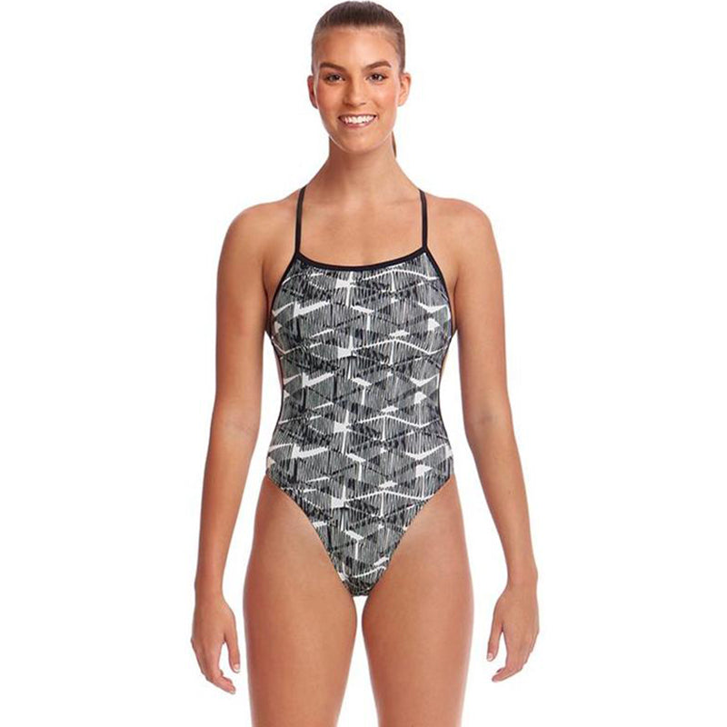 Funkita - Bar Tack - Ladies Twisted One Piece