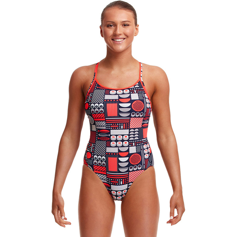 Funkita - Bento Box - Ladies Diamond Back One Piece