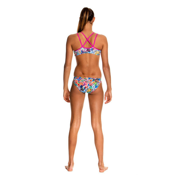 Funkita - Blossom Paradise - Girls Criss Cross Two Piece
