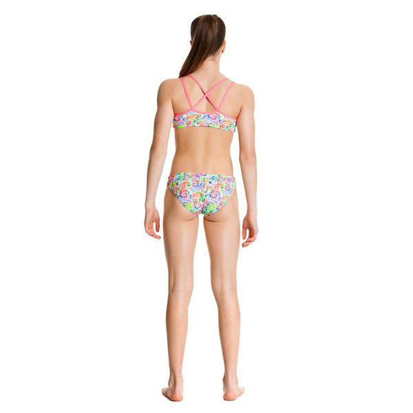 Funkita - Sea Queens - Girls Criss Cross Two Piece