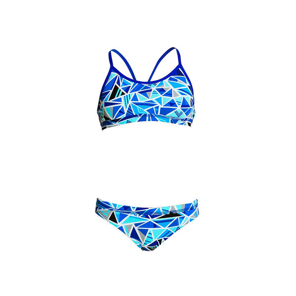 Funkita - Shattered - Girls Racerback Two Piece