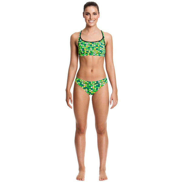 Funkita - Golden Honeycomb - Ladies Sports brief