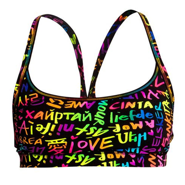Funkita - Love Funkita - Ladies Sports Bikini Top