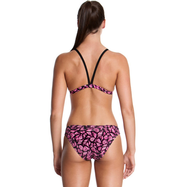 Funkita - Pink Flutterby - Ladies Hipster Brief