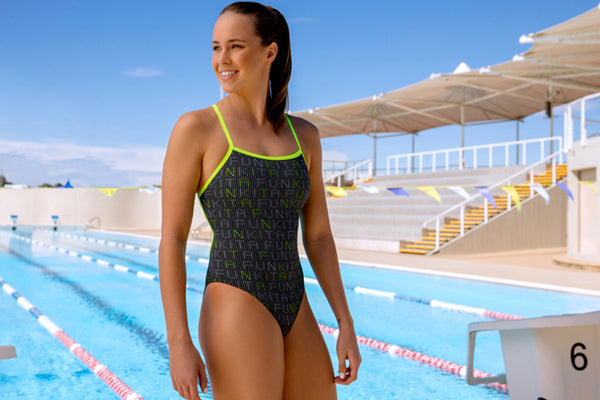 Funkita - Binary Babe - Ladies Strapped In One Piece