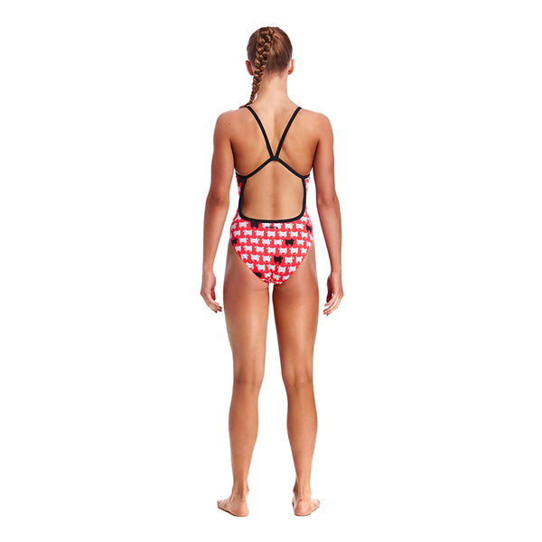 Funkita - Black Sheep - Girls Single Strap One Piece