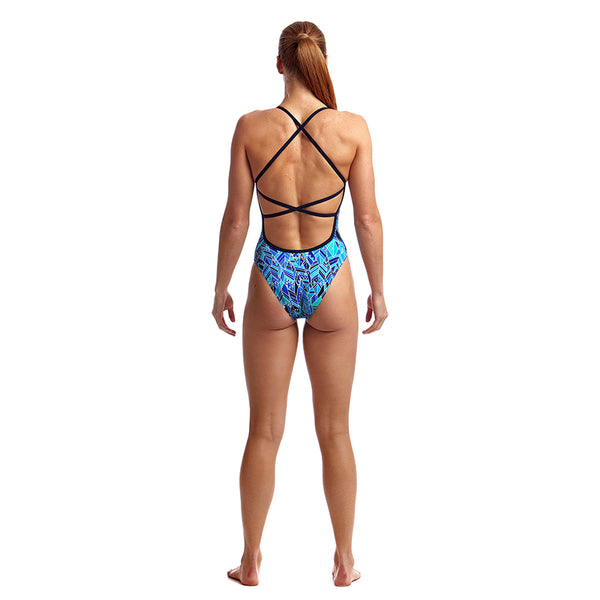 Funkita - Blue Bird - Ladies Strapped In One Piece