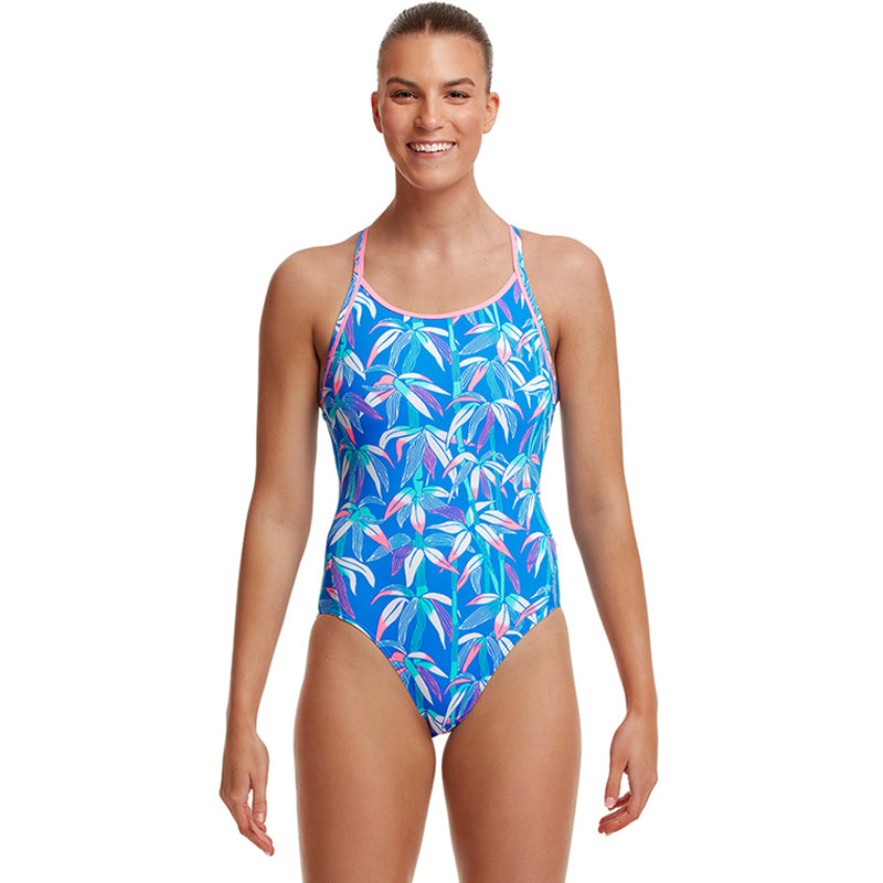 Funkita - BooBam Blue - Ladies Diamond Back One Piece