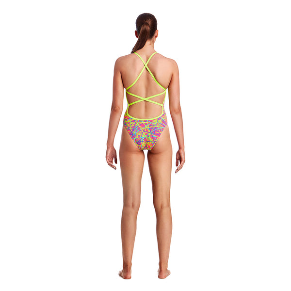 Funkita - Bound Up - Ladies Strapped In One Piece
