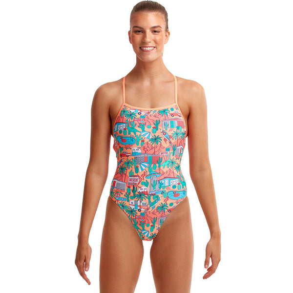 Funkita - Burning Man - Ladies Strapped In One Piece