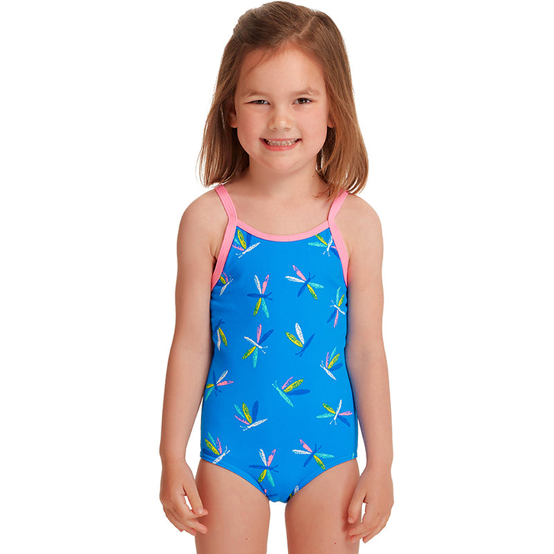 Funkita - Buzz Bird - Toddler Girls Printed One Piece