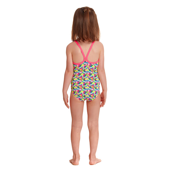 Funkita - Bye Birdie - Toddler Girls Printed One Piece
